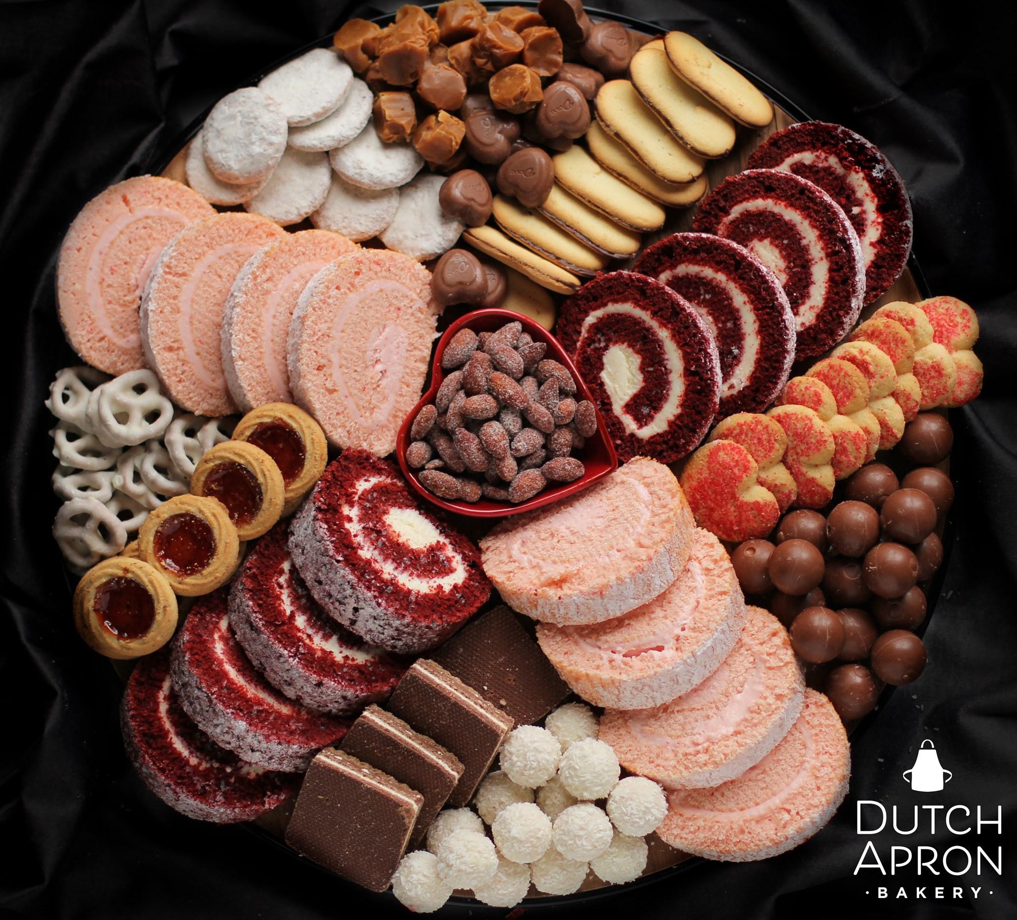 Dutch Apron Bakery Valentine Charcuterie Board