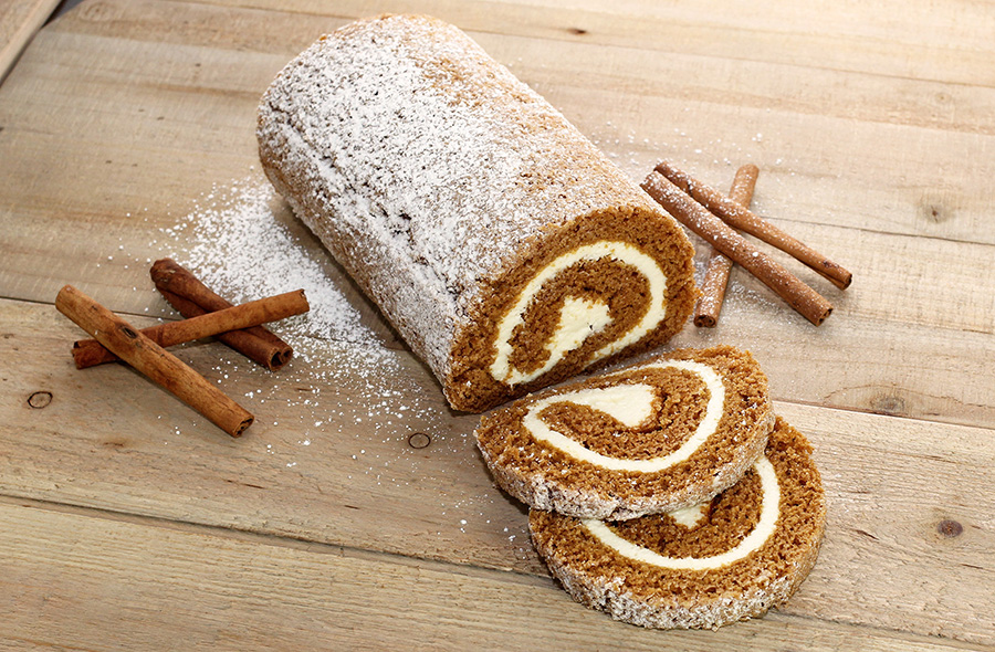 Dutch Apron Bakery Pumpkin Cake Roll